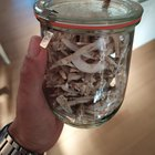 I found lots of parasol mushrooms in the past two days, this mornings haul went into the dehydrator.